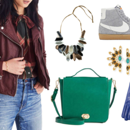 Variety of fall accessories