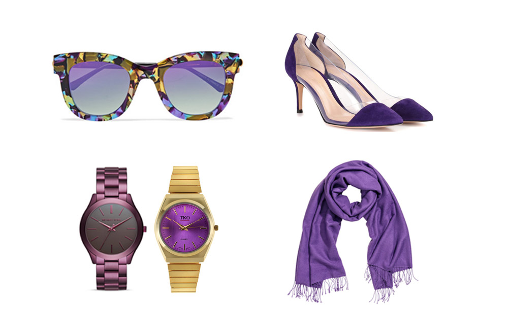 How to Wear Pantone's Color of the Year—Ultra Violet—IRL from http://the-e-tailer.com/blog/