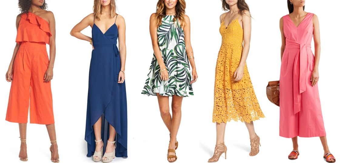 Beach Wedding Guest Dresses The E Tailer