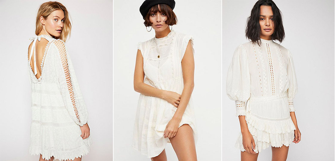 6 White Dresses That *Almost* Look Like Beyonce's Vogue Cover Dress | The-E-Tailer.com/Blog