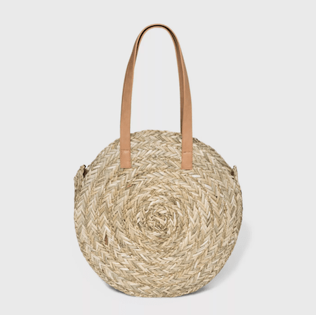 Tote these Cute Straw Totes from Target Around All Summer | The-E-Tailer.com/Blog