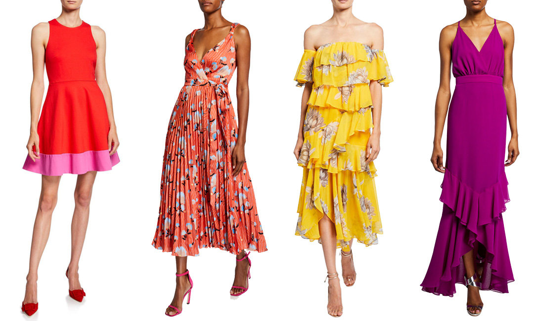 7 Gorgeous Summer Wedding Guest Dresses from Neiman Marcus | The-E-Tailer.com/Blog