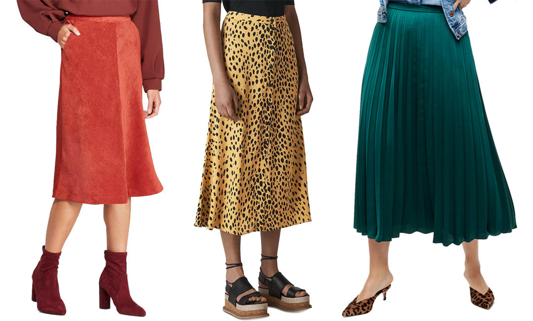 10 Fall Midi Skirts You'll Wanna Wear All Season | The-E-Tailer.com/Blog