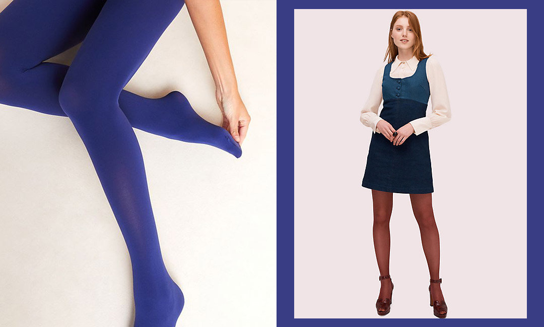 10 Colorful Tights to Wake Up Your Winter Outfits | The-E-Tailer.com/Blog