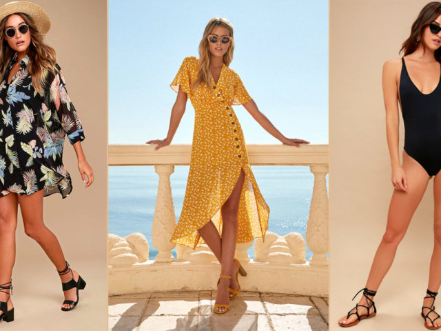 Vacation Outfits from Lulu's | The-E-Tailer.com/Blog