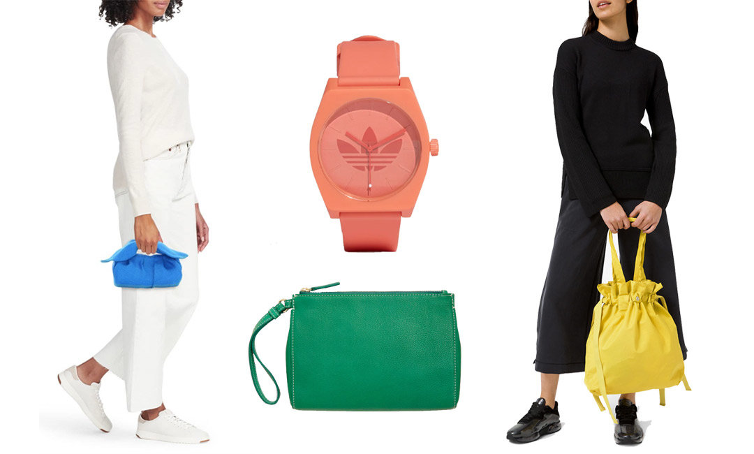 Get Out Your Sunglasses—These Colorful Spring Accessories are B-B-B-Bright | The-E-Tailer.com/Blog