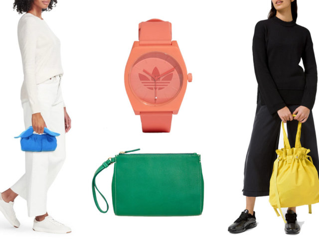 Get Out Your Sunglasses—These Colorful Spring Accessories are B-B-B-Bright   The-E-Tailer.com/Blog