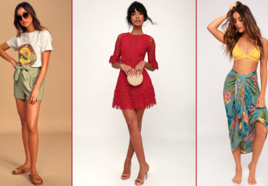 11 Picks from the Buy 2, Get 1 Free Lulus Outlet Sale | The-E-Tailer.com/Blog