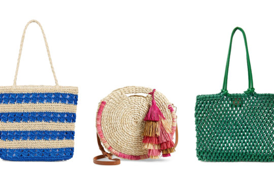 Chic Woven Bags That Will (Almost) Feel Like A Trip To The Beach | The-E-Tailer.com/Blog