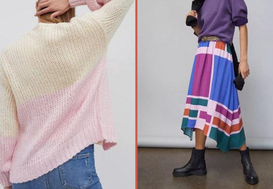 10 Colorblocked Pieces We're Loving For Fall | The-E-Tailer.com/Blog