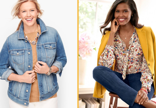 Refresh Your Closet with These Trendy Fall Clothes on Sale at the Talbots Fall Style Event | The-E-Tailer.com/Blog