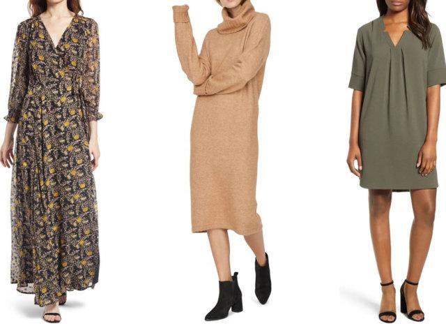 Fun Fall Dresses We're Loving Right Now | The-E-Tailer.com/Blog