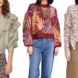 Our Favorite Statement Sweaters Of The Season | The-E-Tailer.com/Blog
