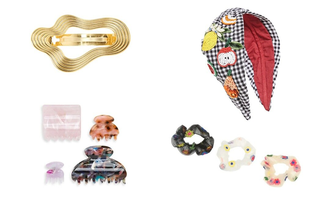 Pretty Summer Hair Accessories (Because the Dog Days Are Upon Us) | The-E-Tailer.com/Blog