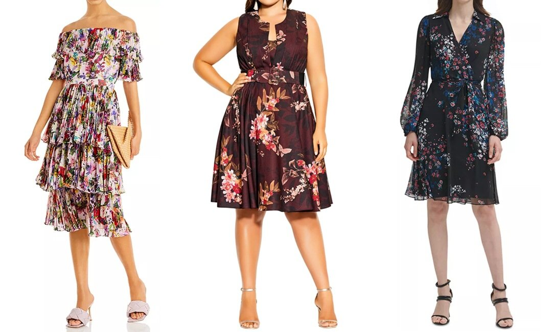 Patterned Wedding Guest Dresses to Wear This Season   The-E-Tailer.com/Blog