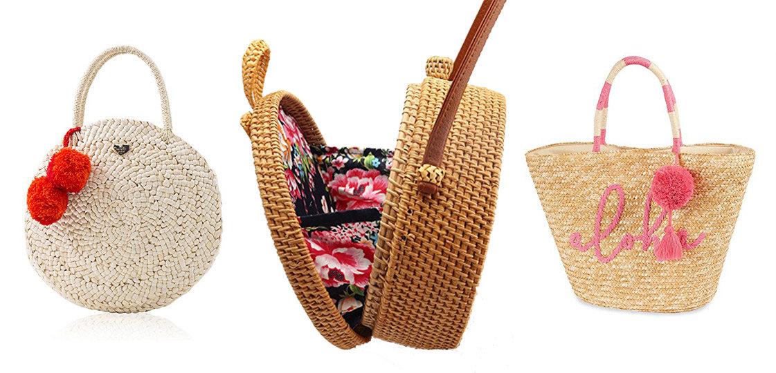 6 Straw Totes for Summer | The-E-Tailer.com/Blog