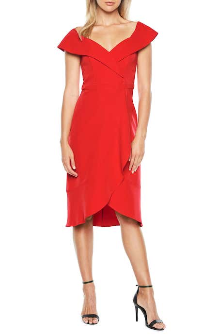 11 Red Holiday Dresses from Nordstrom | The-E-Tailer.com/Blog