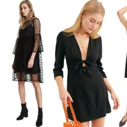 9 Black Valentine's Day Dresses to Match Your Cold, Black Heart | The-E-Tailer.com/Blog