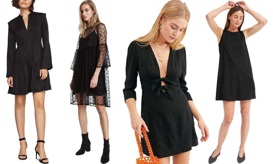 9 Black Valentine's Day Dresses to Match Your Cold, Black Heart | The-E-Tailer.com/Blog